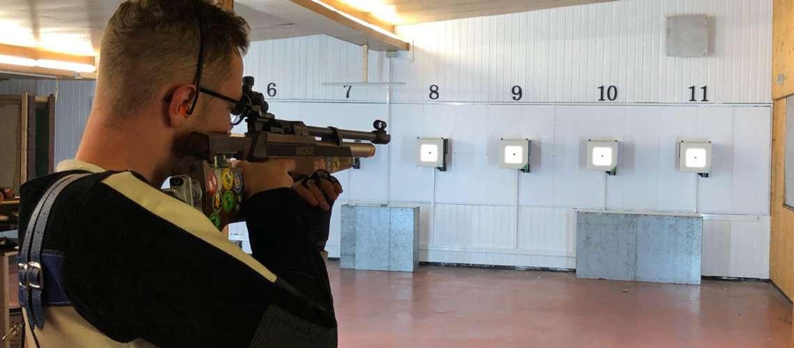 Luftgewehrschütze
